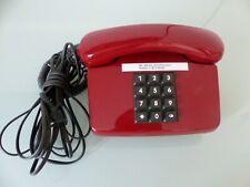 Bundespost FeTap 0111 vintage Tastentelefon, Rot