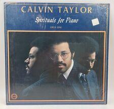 CALVIN TAYLOR Spirituals For Piano Opus One IN SHRINK! EX. LP GOSPEL LP