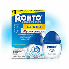 Rohto Ice Multi-Symptom Relief Eye Drops 13ml 0.4 fl oz