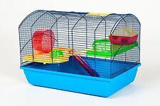 souris hamster rongeur 59x36x43 cm bleu avec accessoires