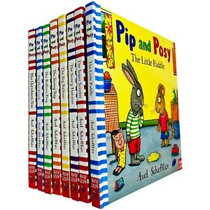 Pip and Posy Series 8 Board Books Collection Set by Axel Scheffler (Little Puddl