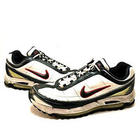 Vintage NIKE Max Air Running Shoes Men's Size 14 (317442-101) (M-274)