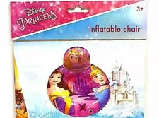 Disney Princess Inflatable Chair Girls Boys Disney Gift 60 X 40cm High