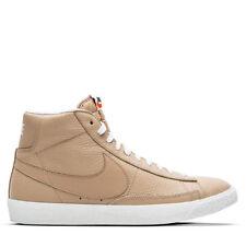 Nike Blazer Mid PRM.. Linen/ Summit White.. Men 10.5 or Women 12.. Fast Shipping