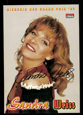 Sandra Weiss Autogrammkarte Original Signiert ## BC 42712