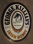 "George Killians Irish Honey 1997 Logo Metal Sign 19"" X 24"""