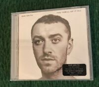 NEW 2017 Sam Smith -  The Thrill Of It All CD Album FREE SHIPPING