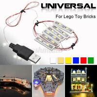 For Lego MOC Toy Bricks Bar-type Lamp USB Universal DIY LED Light Lighting Kit🔥