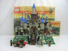 LEGO 6091 6098 King Leo's Castle - 8 Minifigures - Complete w/Box & Instruction