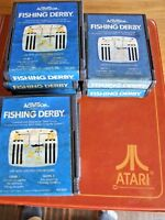ATARI 2600 REGION FREE OFFERS/COMBINE - ACTIVISION - AG004 B FISHING DERBY
