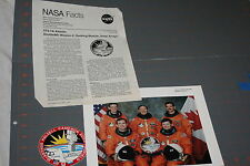 Vintage NASA Space Shuttle Program Press Kit STS-74
