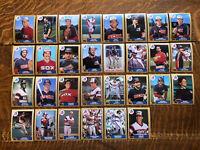 1987 CHICAGO WHITE SOX Topps COMPLETE Baseball Team SET 30 Cards FISK CARLTON!