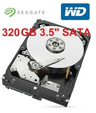 "WD Seagate 320GB 3.5"" SATA PC Hard Disk Drive HDD Internal 7200RPM 7.2K Working"