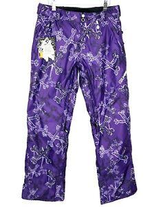 Volcom Sustain Pant Womens Snowboard Pants Purple Size S