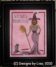 WICKEDLY BEWITCHING CROSS STITCH- XSTITCHDESIGNSBYLISA