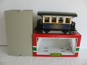 LGB Trains Jubilaums Express 102 Year Anniversary Passenger Car #1983 NOS