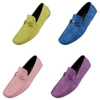 Amali Classic Driving Moccasin Designer Dress Shoes Casual Mens Slip On Loafers
