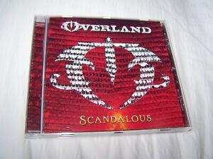 Overland - Scandalous CD 2020 Rock Solo  - Steve Overland FM