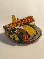 WDW Big Thunder Railroad Logo Mickey Donald Goofy Train Disney Pin LE (B9)