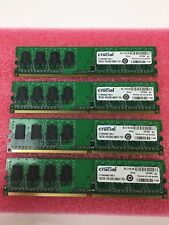 Crucial 4GB (4x1GB) CT12864AA667 PC5300 240 pin DDR2 Desktop RAM