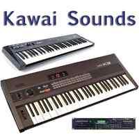 Most Sounds: Kawai K1, K1m, K1r, K3, K3m, K4, K4r, K5, K5m, XD-5
