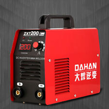 220V Portable Small Household Mini Inverter DC Electric Welding Machine ZX7-200