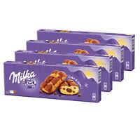 4 x Milka Cake & Choc Fluffy Cupcake with Alpine Chocolate Filling 175g 6.2oz