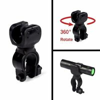 360° Multi-function Bike Bicycle Mount Clip Clamp LED Flashlight Torch Holder