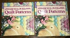 Best Loved Quilt Patterns Two 3-Ring Binders Full Oxmoor House Patterns Template