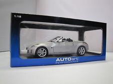 77371 AUTOart  Nissan 350 Z Roadster ( Diamond Silver ) - 1:18
