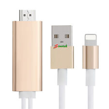 New lightning to HDMI HDTV TV Cable Adapter for apple iphone 5 5C 5S 6 6S 6 plus