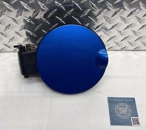 2009-2014 FORD F-150 F150 FUEL FILLER GAS TANK DOOR ASSEMBLY CAP BLUE OEM