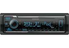 Kenwood DAB+ Autoradio KMM-BT505DAB inkl. Antenne Bluetooth USB AUX