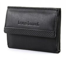 bruno banani RFID-Safe Mini Wallet High Geldbörse Black Schwarz Neu