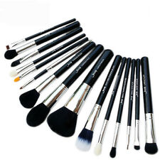 15Pcs Pro Makeup Cosmetic Brush Foundation Powder Kabuki Brushes Set Jessup US
