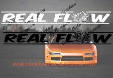 Real Flow Windshield Decal Car Sticker Banner Graphics Jdm Sun Visor Subaru