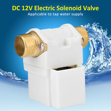 "G1/2"" 12VDC Solar Energy Electric Solenoid Valve For Water N/C Normally Closed"