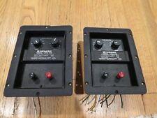 PAIR OF PIONEER HPM 700 CIRCUIT BOARD SPEAKER WIRE CONNECTORS