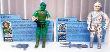 1987 GI JOE LOT Vintage Battle Force 2000 Avalanche Blaster Complete File Cards