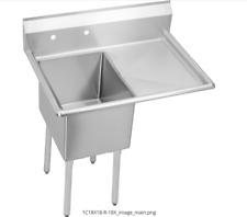 Elkay 1C18X18-R-18X 16Ga Stainless Steel Prep Handwash Sink New 1163169