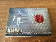 DANIEL RADCLIFFE HARRY POTTER AND THE SORCERER'S STONE COSTUME CARD 210/550