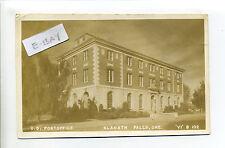 Klamath Falls OR Oregon U.S. Post Office, sign, RPPC real photo, 1948