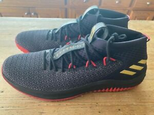 "Adidas Damian Lillard ""DAME TIME"" basketball shoes mens size 18 Portland NBA"