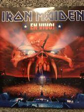 Iron Maiden 'en vivo' 3 X Vinilo Lp-Nuevo y Sellado