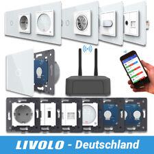 LIVOLO SmartHome WIFI Touch Funk Lichtschalter Steckdose Wechselschalter Weiß -A