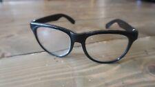Vintage Black Eyeglasses Original Nerd Glasses