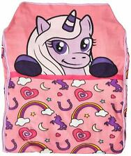 Zipit Friends Twin Bedding Pink Unicorn ~Children Can Make Own Bed~ CLEARANCE