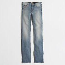"J Crew Factory - Women's 27 (4) - NWT - Davidson Wash 33"" Straight Leg Jeans"