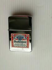 Zippo briquet, Budweiser, 1996, rare