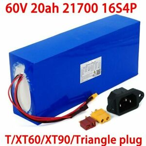 60V 20Ah Electric Scooter Battery E Bicycle Li-ION Power Pack 2000W Ebike UK FRE